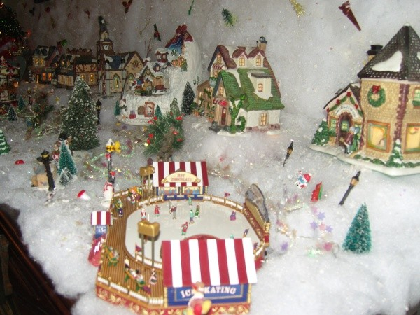 Village de Noel miniature