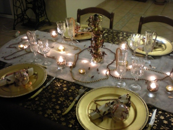 Amy, ma table de Noel, Aulnay de Saintonge