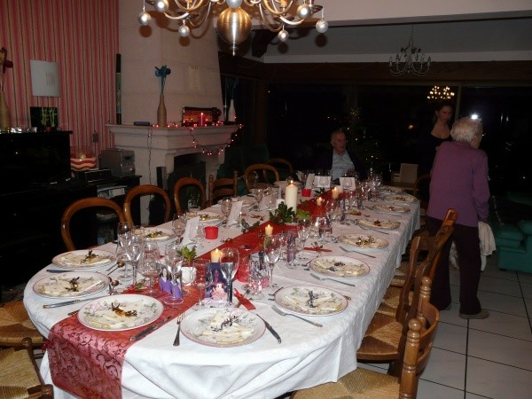 Nelly, ma table de Noel, Villy le Moutier